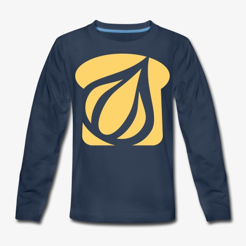Garlic Toast - Kids' Premium Long Sleeve T-Shirt