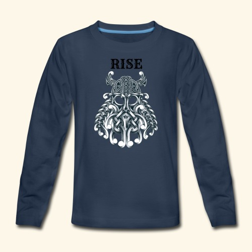 RISE CELTIC WARRIOR - Kids' Premium Long Sleeve T-Shirt
