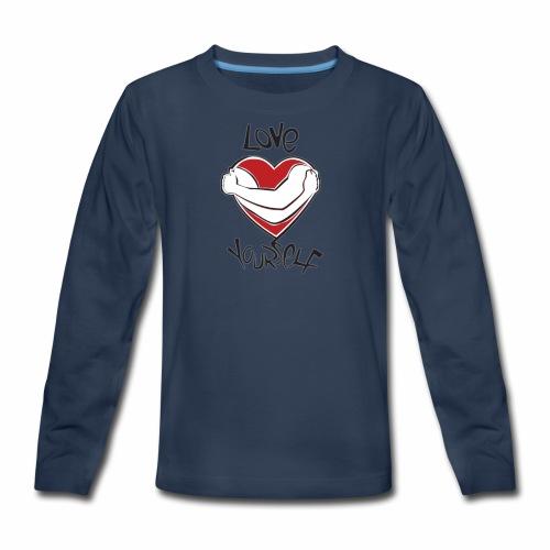LOVE YOURSELF - Kids' Premium Long Sleeve T-Shirt