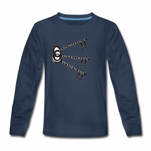 KEYS TO LIFE - Kids' Premium Long Sleeve T-Shirt