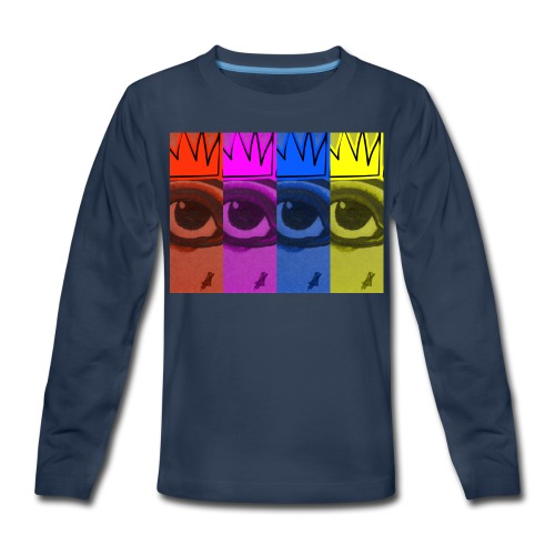 Eye Queen - Kids' Premium Long Sleeve T-Shirt