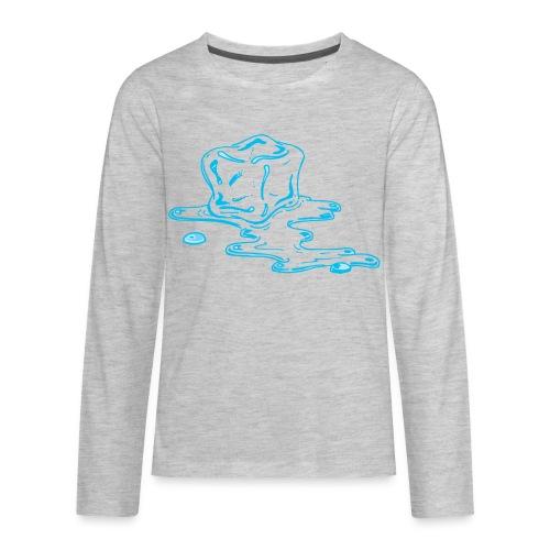Ice melts - Kids' Premium Long Sleeve T-Shirt
