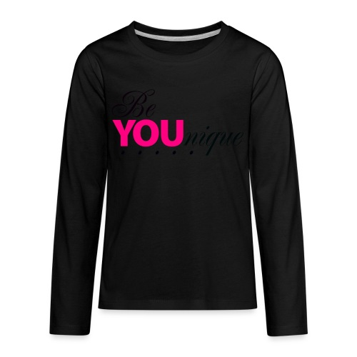 Be Unique Be You Just Be You - Kids' Premium Long Sleeve T-Shirt