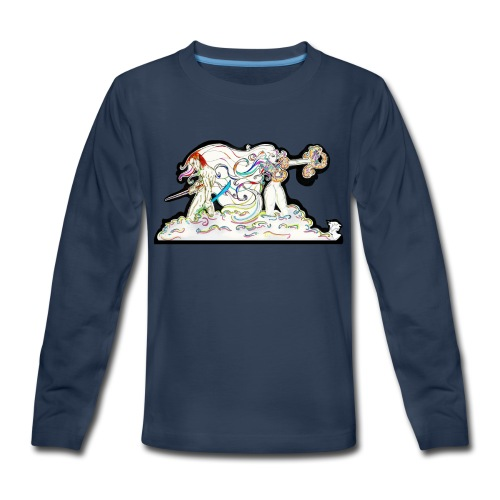 MD At Your Side - Kids' Premium Long Sleeve T-Shirt