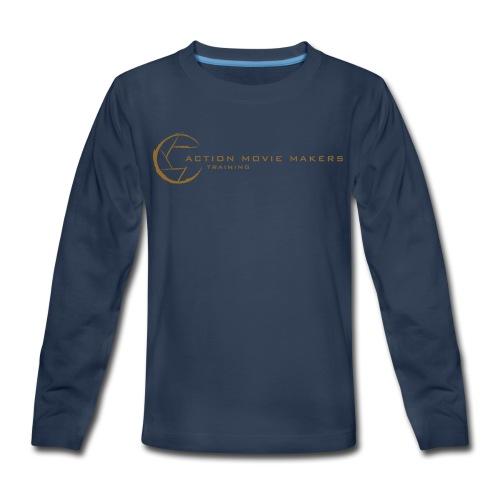 AMMT Logo Modern Look - Kids' Premium Long Sleeve T-Shirt