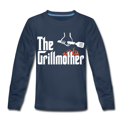 The Grillmother - Kids' Premium Long Sleeve T-Shirt