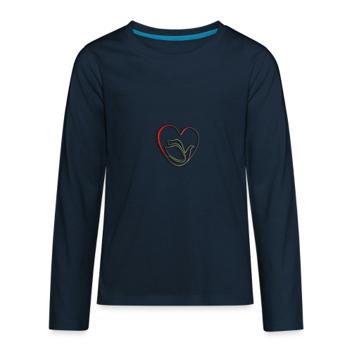 Love and Pureness of a Dove - Kids' Premium Long Sleeve T-Shirt