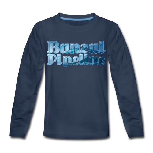 Banzai Pipeline - Ultimate Surfing Waves - Kids' Premium Long Sleeve T-Shirt