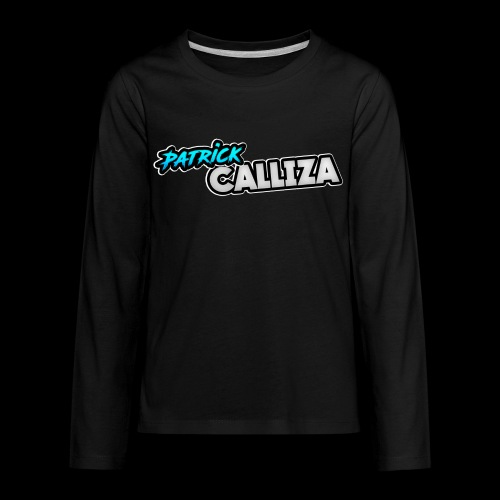 Patrick Calliza Official Logo - Kids' Premium Long Sleeve T-Shirt