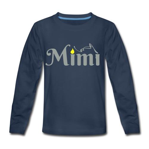 La bohème: Mimì candles - Kids' Premium Long Sleeve T-Shirt