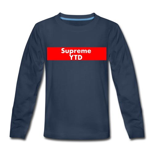 supreme ytd - Kids' Premium Long Sleeve T-Shirt