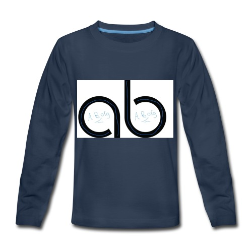Ab signature merch - Kids' Premium Long Sleeve T-Shirt