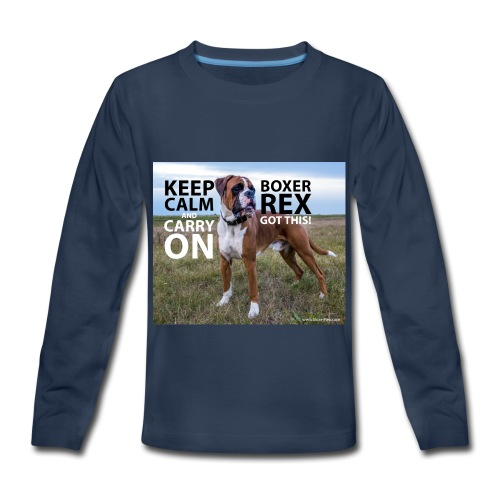 Keep calm and carry on - Kids' Premium Long Sleeve T-Shirt