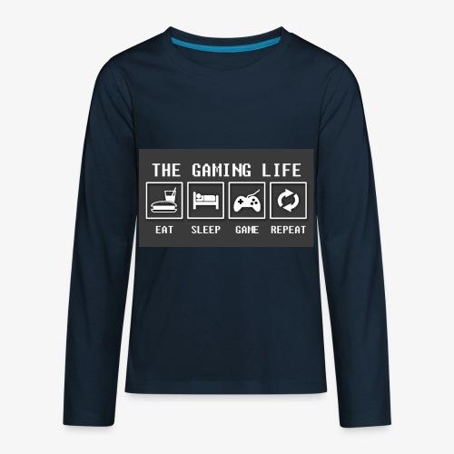 Gaming is life - Kids' Premium Long Sleeve T-Shirt
