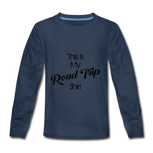 road trip - Kids' Premium Long Sleeve T-Shirt