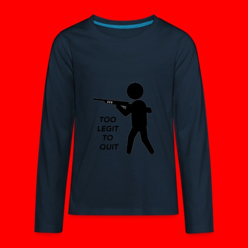 OxyGang: Too Legit To Quit Products - Kids' Premium Long Sleeve T-Shirt