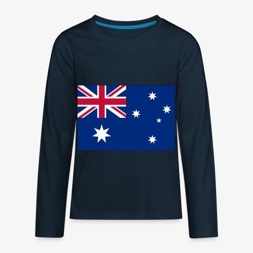 Bradys Auzzie prints - Kids' Premium Long Sleeve T-Shirt
