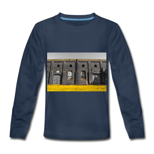 Bricks: who worked here - Kids' Premium Long Sleeve T-Shirt