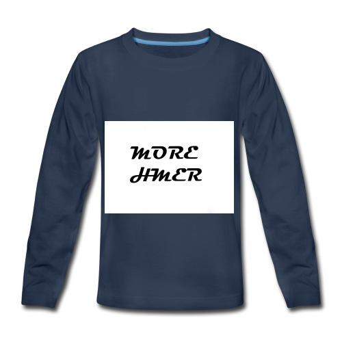 MORE HMER - Kids' Premium Long Sleeve T-Shirt
