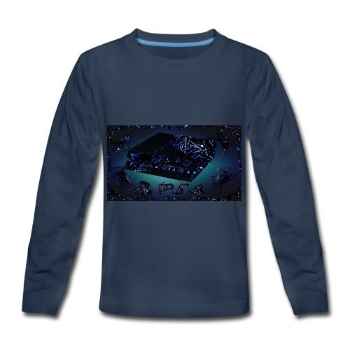 ps4 back grownd - Kids' Premium Long Sleeve T-Shirt