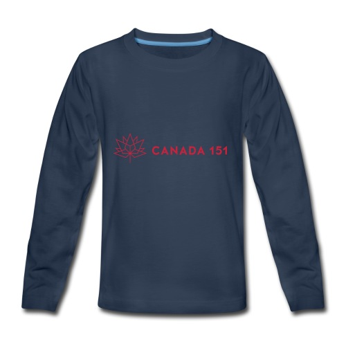 Canada 151 - Kids' Premium Long Sleeve T-Shirt