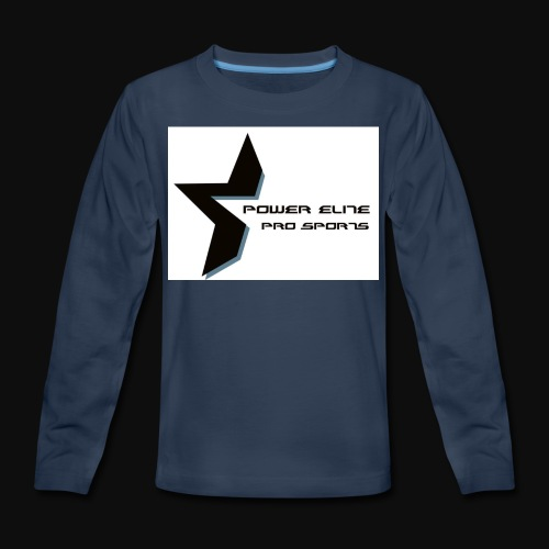 Star of the Power Elite - Kids' Premium Long Sleeve T-Shirt