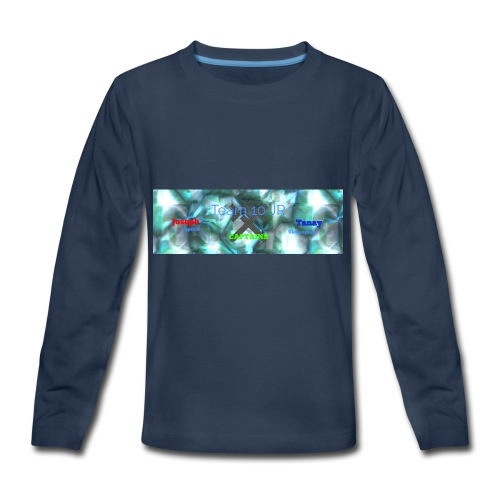 Team10Jr Capitans - Kids' Premium Long Sleeve T-Shirt