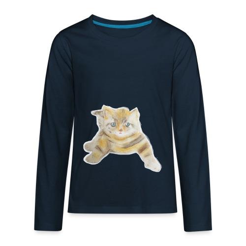 sad boy - Kids' Premium Long Sleeve T-Shirt