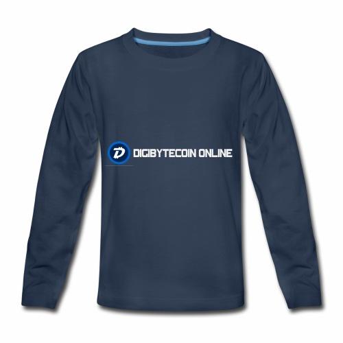Digibyte online light - Kids' Premium Long Sleeve T-Shirt