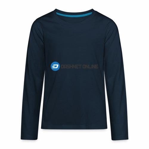 dashnet online dark - Kids' Premium Long Sleeve T-Shirt