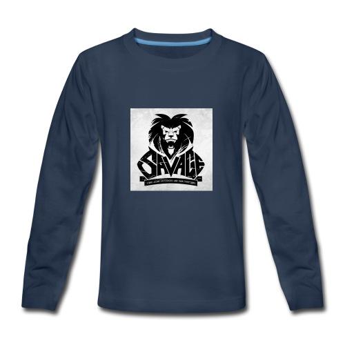 king savage - Kids' Premium Long Sleeve T-Shirt