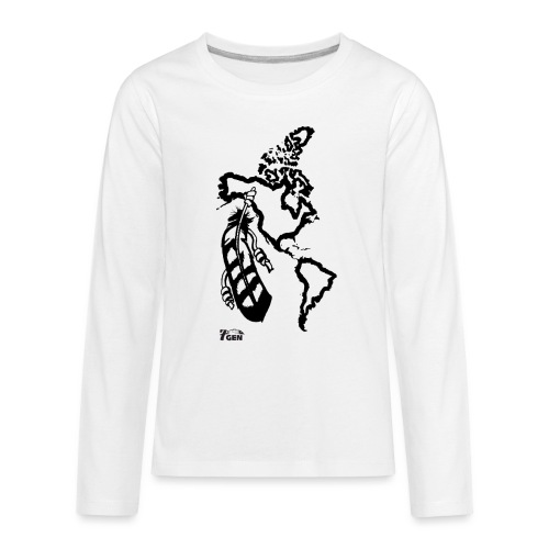NativeLand - 7thGen - Kids' Premium Long Sleeve T-Shirt