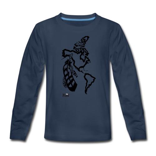 NativeLand - 7thGen - Kids' Premium Long Sleeve T-Shirt