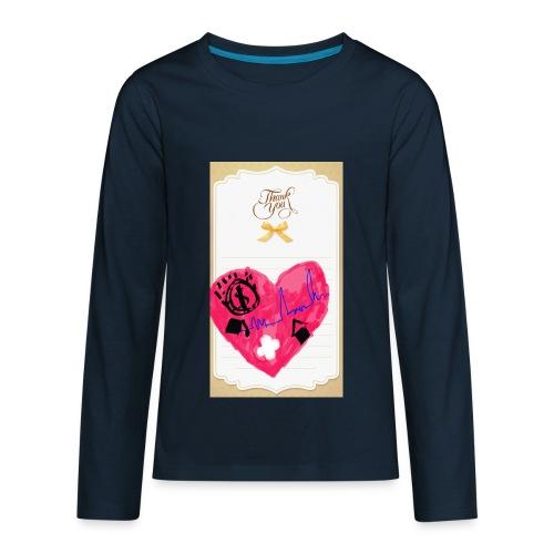 Heart of Economy 1 - Kids' Premium Long Sleeve T-Shirt