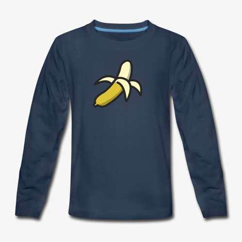 Banana Logo - Kids' Premium Long Sleeve T-Shirt