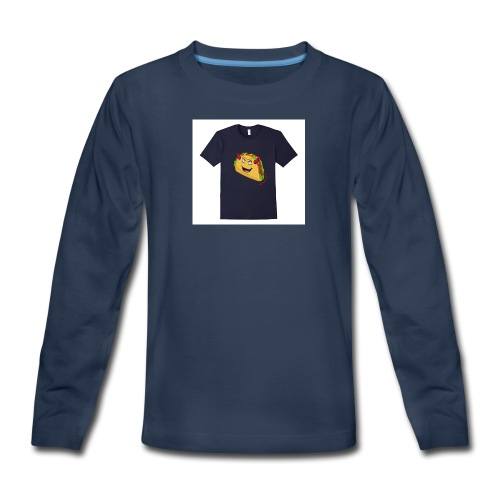 evil taco merch - Kids' Premium Long Sleeve T-Shirt