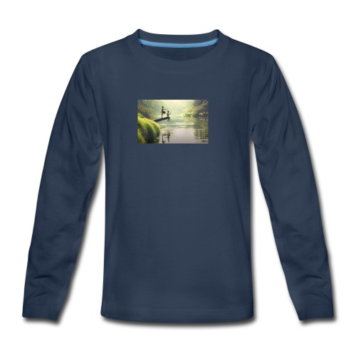 fishing - Kids' Premium Long Sleeve T-Shirt