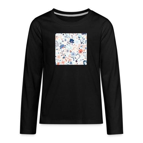 flowers - Kids' Premium Long Sleeve T-Shirt