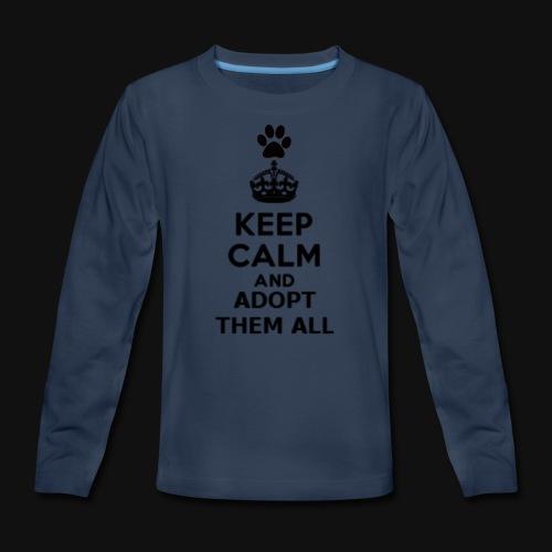 KEEP CALM - Kids' Premium Long Sleeve T-Shirt