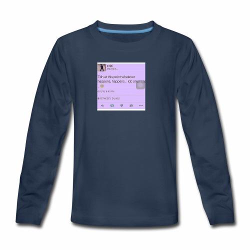 Idc anymore - Kids' Premium Long Sleeve T-Shirt