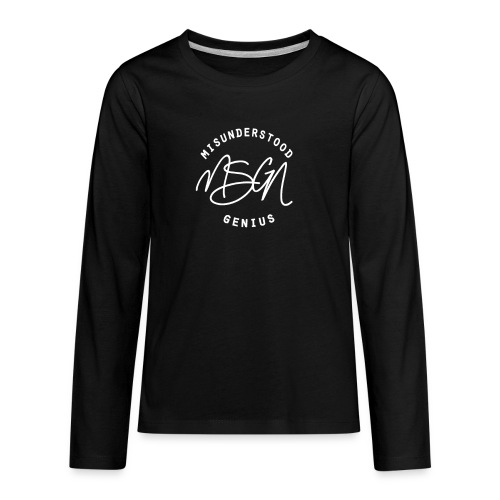 MSGN Logo - Kids' Premium Long Sleeve T-Shirt