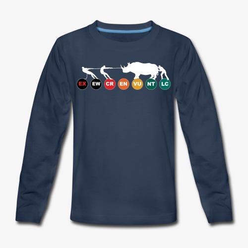 The way of the dodo II - WD - Kids' Premium Long Sleeve T-Shirt