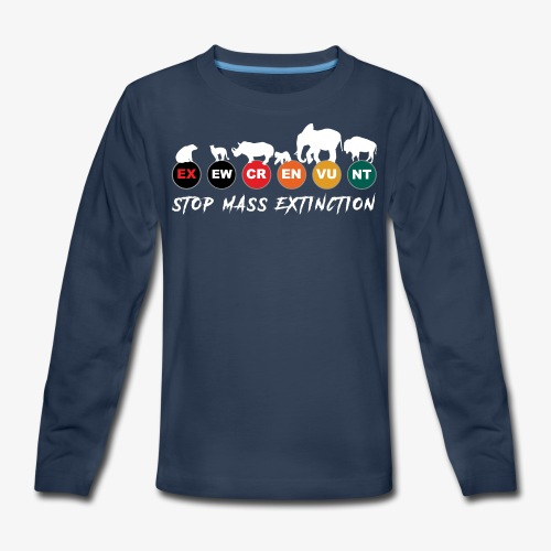 Stop mass extinction ! - Kids' Premium Long Sleeve T-Shirt