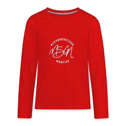MSGN Logo - Kids' Premium Long Sleeve T-Shirt