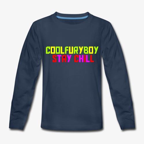 CoolFuryBoy - Kids' Premium Long Sleeve T-Shirt