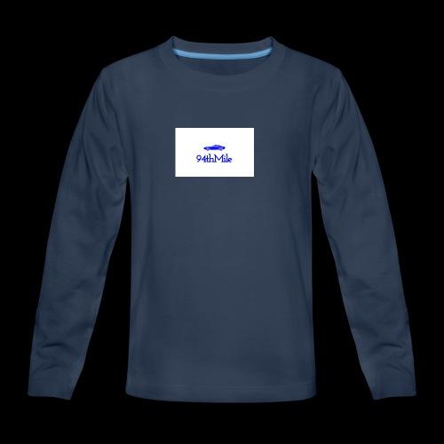 Blue 94th mile - Kids' Premium Long Sleeve T-Shirt