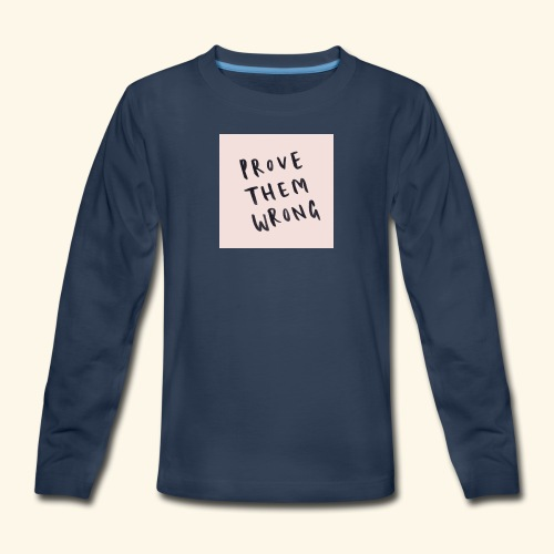 show em what you about - Kids' Premium Long Sleeve T-Shirt