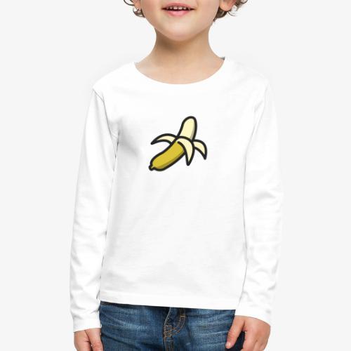 Banana Logo - Kids' Premium Long Sleeve T-Shirt