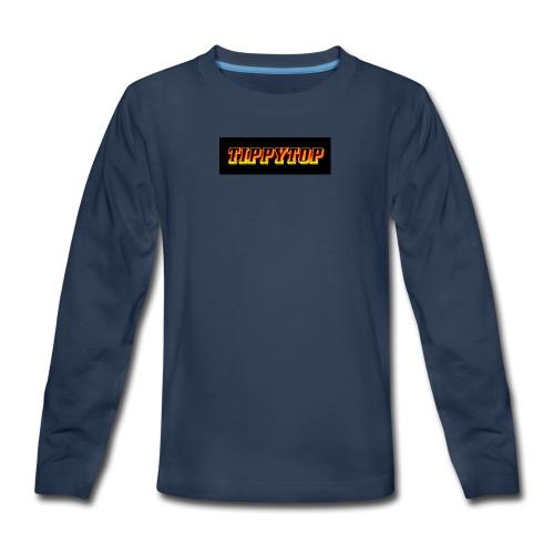 clothing brand logo - Kids' Premium Long Sleeve T-Shirt