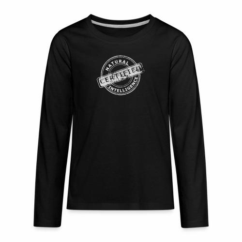 Natural Intelligence inside - Kids' Premium Long Sleeve T-Shirt